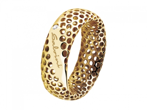 Golden Cage Gold Ring