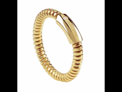 Minimal Pop Yellow Gold Ring