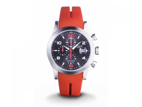 Locman Island Red Cronograph Watch