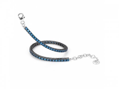 Portofino Blue Topaz Tennis Bracelet